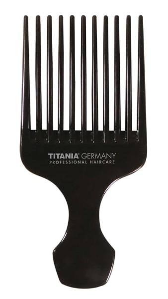 Afro kamm mit Griff, für voluminöses Haar. Kosmetex Afro-Hair-Styler für dichtes, lockiges und lange