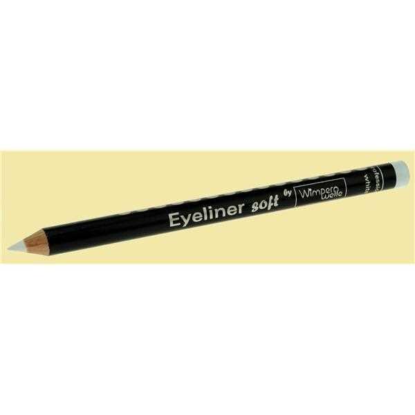 Wimpernwelle Eyeliner soft: Weiß