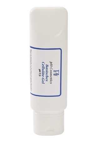 Basisches Cellulite Gel pH 7,5, Gel für Oberschenkel, Po und Bauch, ph-Cosmetics