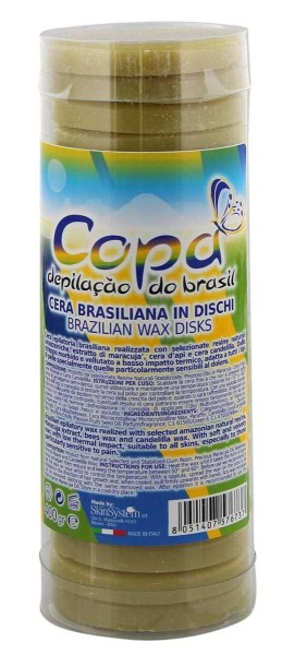 Copa Brasilianischer Wachs soft u. flexibel, Wachstaler, Scheiben, depilacao do brasil, 400g