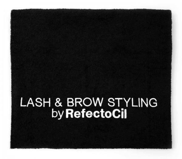 RefectoCil Handtuch, Schwarz