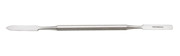 Nagelhautschieber doppelendig aus Edelstahl, 17 cm