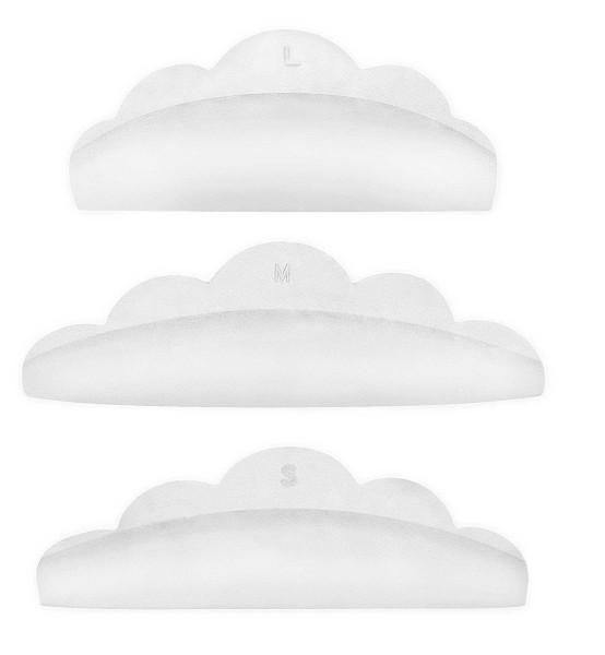 Wimpern Silikon Pads - Soft Curl, Combinal, 10 Stück,
