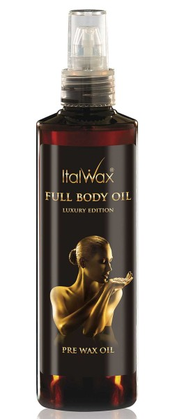 Pre Wax Öl Full Body, Vorbehandlungsöl Italwax, 250ml