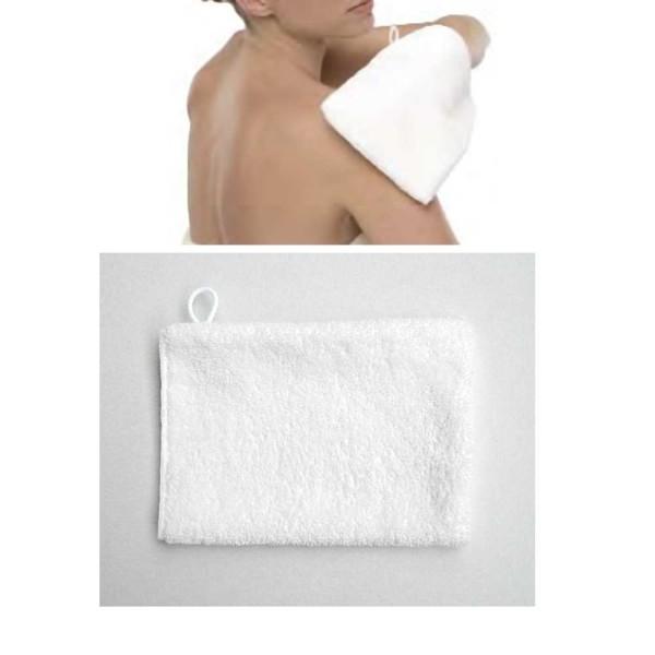 Waschhandschuh Micro-Peeling Sensation, Kosmetex Handschuh Micromatrix Mikrofaser System für die Mak