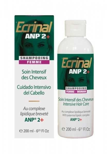 Ecrinal Kurshampoo ANP für Sie, Intensive Haar-Behandlung bei Haarausfall, 200ml