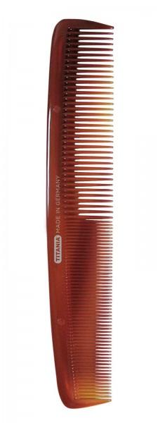 Herrenkamm Kamm für schonendes Haare kämmen in Braun