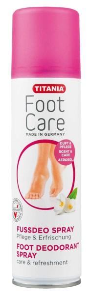 Titania Fussdeo Spray, intensive Pflege und Erfrischung, bei beanspruchten Füßen, 200ml