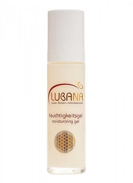 LUBANA basisches Feuchtigkeitsgel, pH 7,6, ohne Silikone, basisch, Gel, spendet Feuchtigkeit, 50 ml