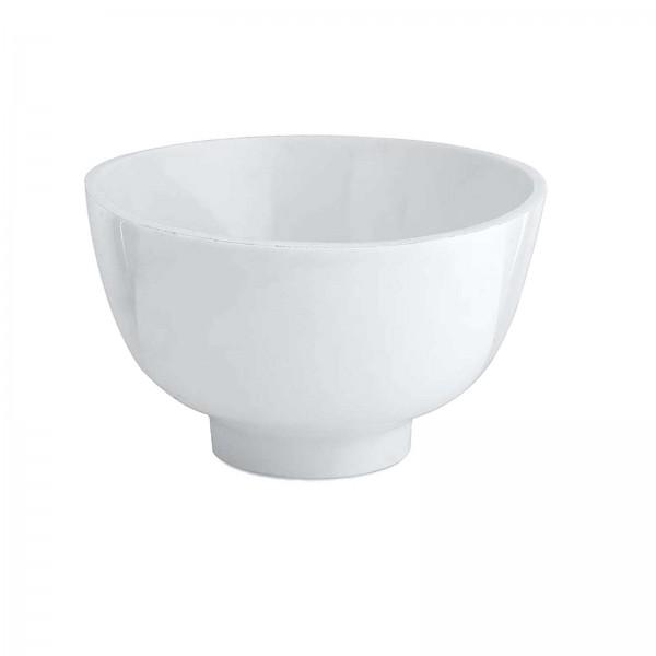 Flexible Anmischbecher für Masken, weiß,