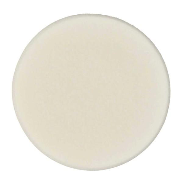 Make-up Schwämchen aus Latex Rund 5cm-weiß