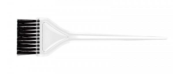 Färbepinsel, klar großer Flachpinsel - Nylonborsten ultraweich