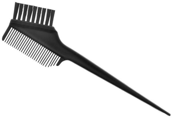 Großer Haarfärbekamm Nr.1, Kosmetex Haarfärbepinsel, Kamm Pinsel für Farbe oder Blondierung, Strähnc