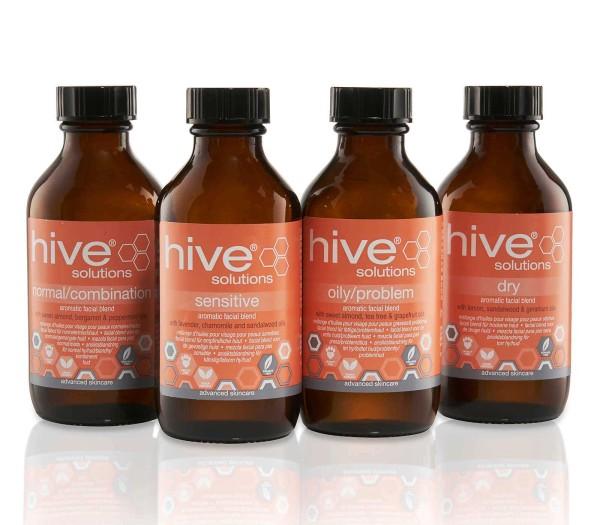 4 x 75ml Hive Gesichtöl Set, Solutions