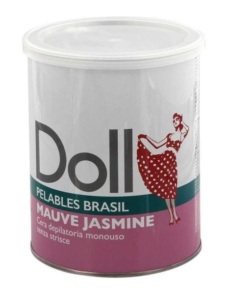 Malve Jasmin Doll Wachs, Pelables Primo Wachsdose für flexibles Waxing ohne Vliesstreife, 800g