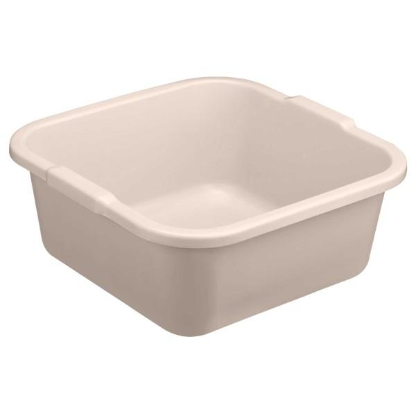 Fußbad Schüssel 39x39 cm, viereckige Fuß-Badewanne, Kosmetex,