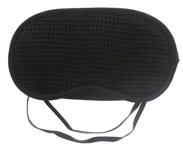 Schlafmaske aus Baumwolle, Schlafbrille Augenmaske als Schlafhilfe