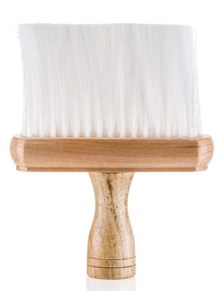 Friseur Nacken-Flachpinsel mit Holzgriff
