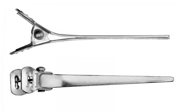 144x Haarklammern, 5 cm Haarclips, Schnabel Haarspangen