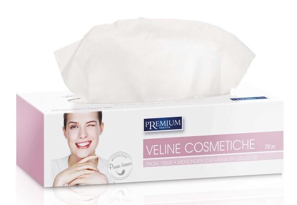 150x Kosmetiktücher, Kosmetik Tissue, weiß