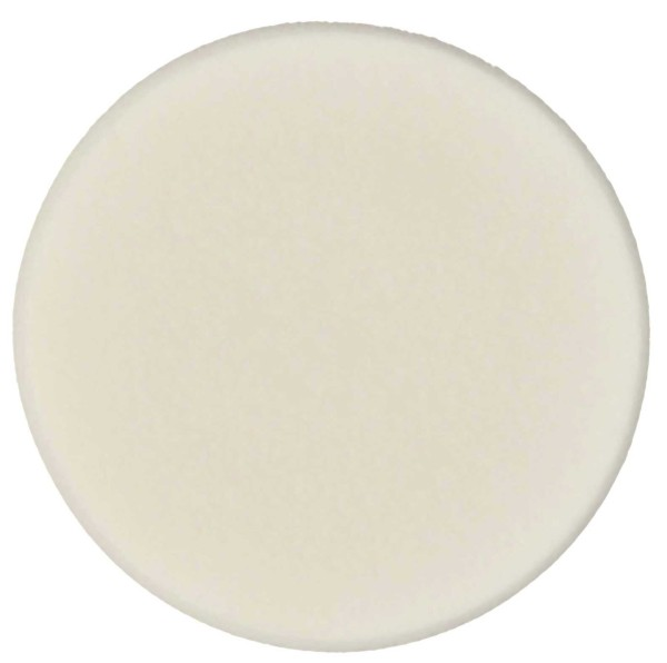 Make-up Schwämchen aus Latex Rund 7cm-weiß